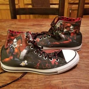 Price is firm Converse Harley Quinn
